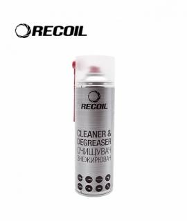Аерозольний очищувач-знежирювач RecOil 500мл.