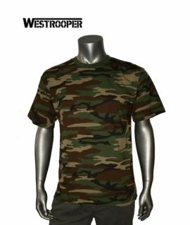 Футболка Westrooper 170G Army Shirt Woodland
