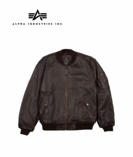 Куртка Alpha Industries MA-1 Leather Jacket