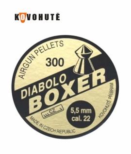 Кульки Diabolo Boxer 5.5 мм. 0.9 г.