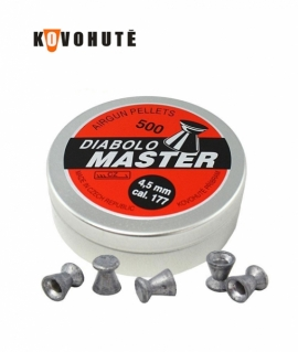 Кульки Diabolo Master 4.5 мм. 0.48 г.