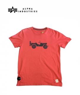 Чоловіча футболка Willis T, spicy red