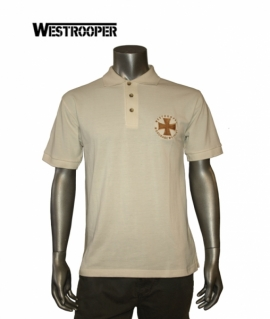 Футболка Westrooper Iron Kruz Polo Shirt бежева