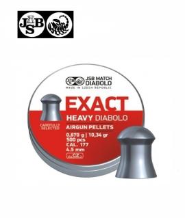 Кульки JSB Diabolo Exact Heavy к.4,52мм 0,670г/ 500шт