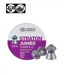 Кульки JSB Diabolo Jumbo Straton к.5,5мм 1,030г/ 500шт