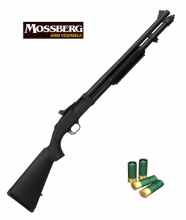 "Mossberg M590 кал.12, 20"" 9-shot Synthetic GRS,Tri-rail"