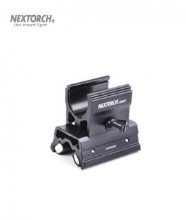 Тримач NexTorch RM87 підствольний магнітний для ліхтарів Ø23-26,5 мм (регульований)