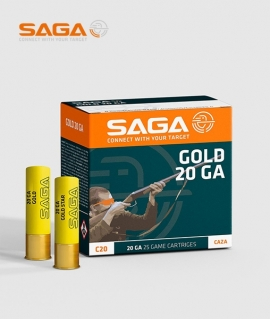 Патрон Saga GOLD 28 (4) 20 кал.