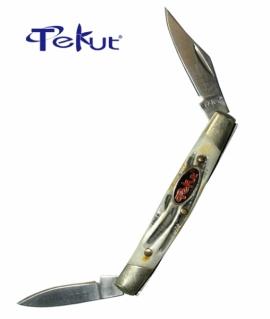 """Ніж Tekut MK 5002-GT Small torck 2.6 """" +  подарункова коробка та чохол оксамит"""