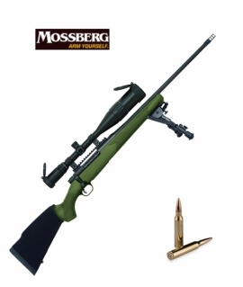 "Mossberg Patriot к.300WM Mag 22"" BBL Matte Blue Synth. OD Green Classic"