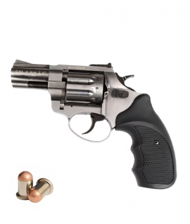 "Револьвер  Флобера Stalker 4мм 2,5"" сатин"