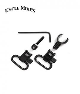 """Антабки Uncle Mike's для карабінів 22LR. для ременів 1"""" (2,5см)"""