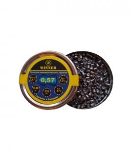 Кулі круглі Winner 0,57 г кал.4,5 мм(350шт.)