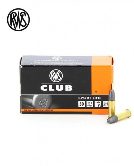 Патрон RWS Club cal.22LR